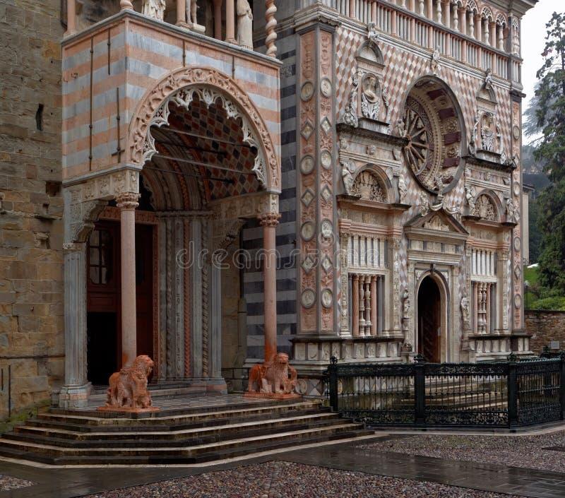 Download Porch Of The Santa Maria Maggiore Cathedral In Bergamo, Italy Editorial Photo - Image: 93754321