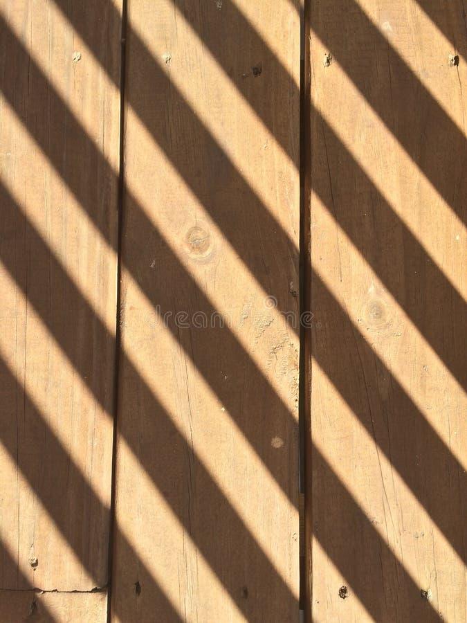 Porch with shadows royalty free stock photos