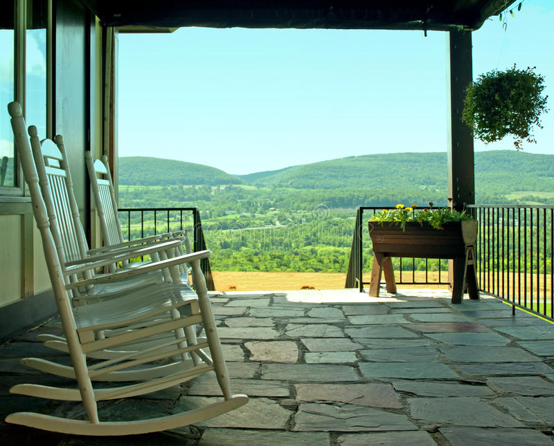 Download Porch with a view stock image. Image of front, home, residence - 26148269