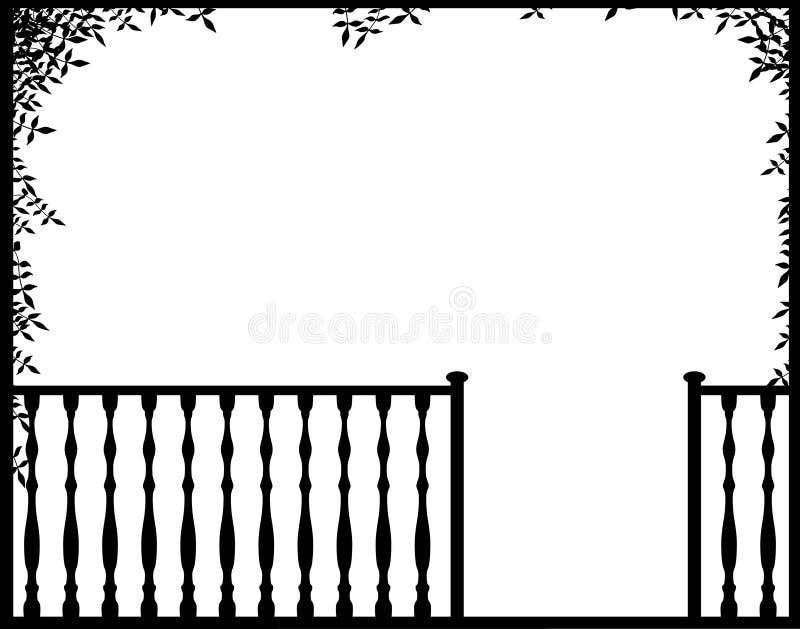 Porche illustration stock