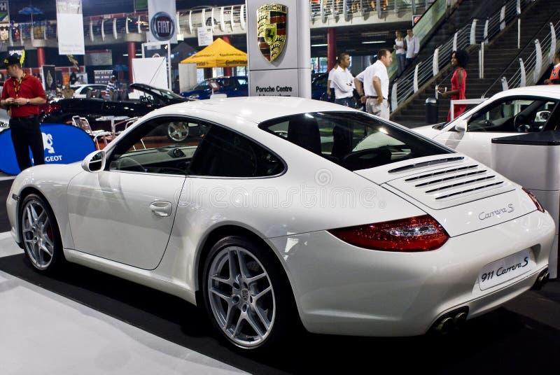 Porche 911 Carrera S - breng Mening groot - MPU royalty-vrije stock fotografie
