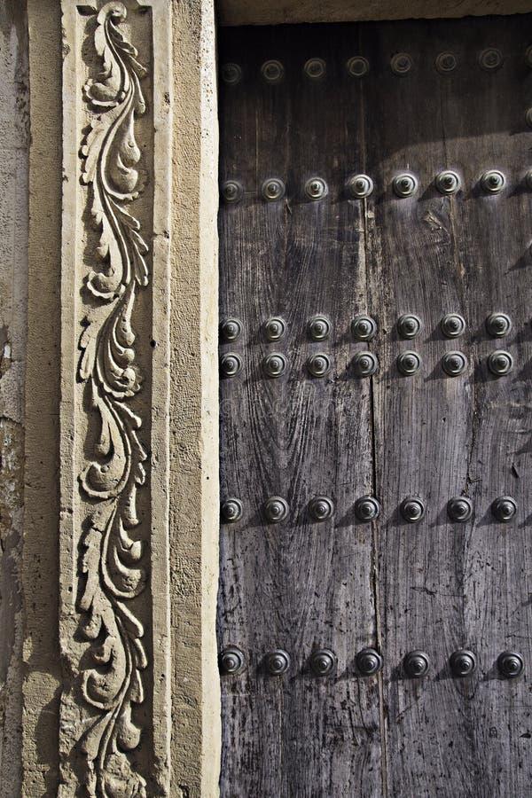 Porche avec la frise photographie stock