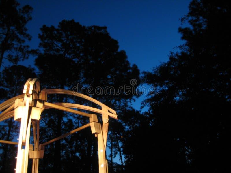 Porche construit à la main de belvédère images libres de droits