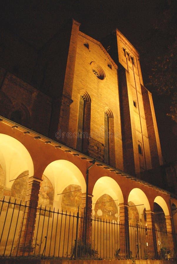 Porches d'une église frescoed photos stock