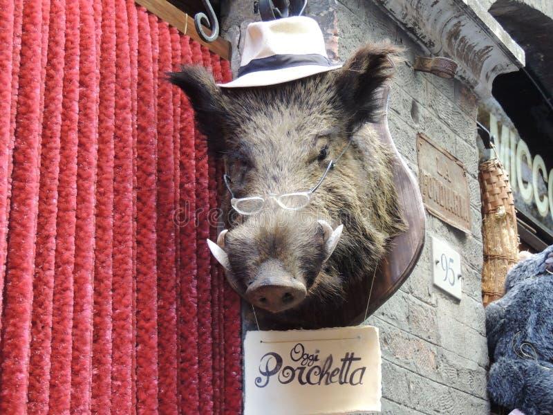 Porchetta 免版税库存图片