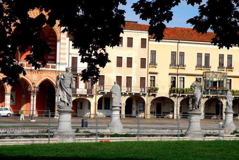 Porción al oeste del della Valle de Prato en Padua en el Véneto (Italia) fotos de archivo