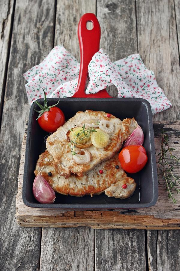 Download Porción De Carne Frita Fresca Imagen de archivo - Imagen de fotografía, placer: 41905031