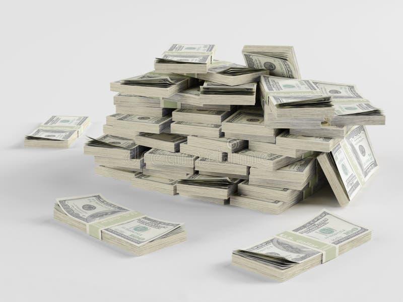 Porción de dinero libre illustration