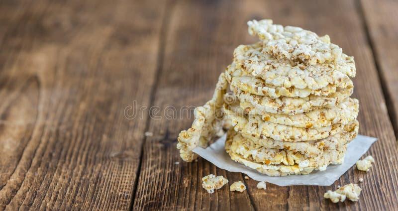 Porción de galletas del maíz fotografía de archivo libre de regalías