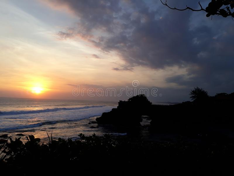 Porción de Tanah, Bali fotografía de archivo