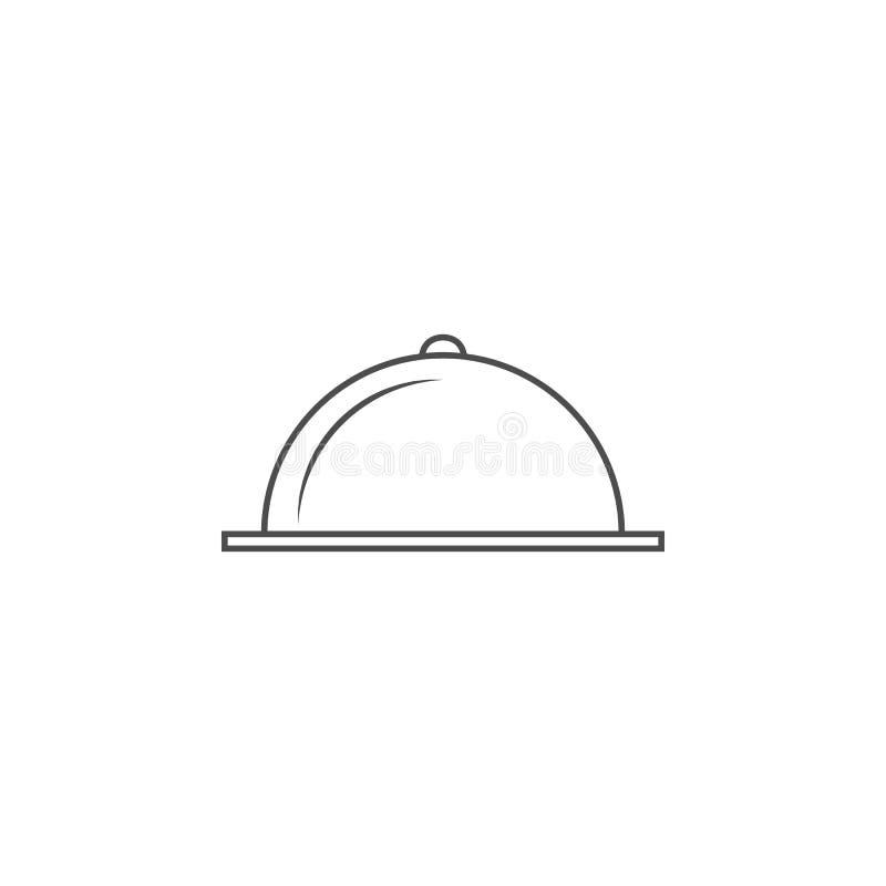 porci tacy ikona Element dla mobilnych pojęcia i sieci apps Cienka kreskowa ikona dla strona internetowa projekta i rozwoju, app  ilustracja wektor