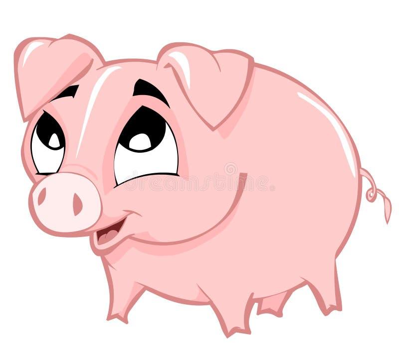 Porcin illustration de vecteur