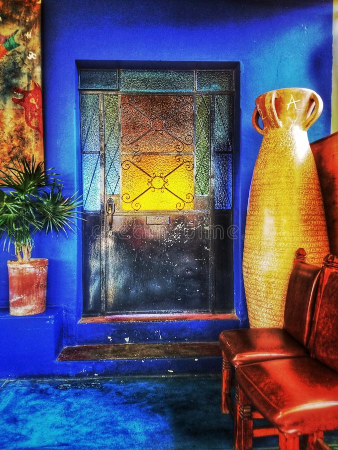 Porciones de color fotografía de archivo