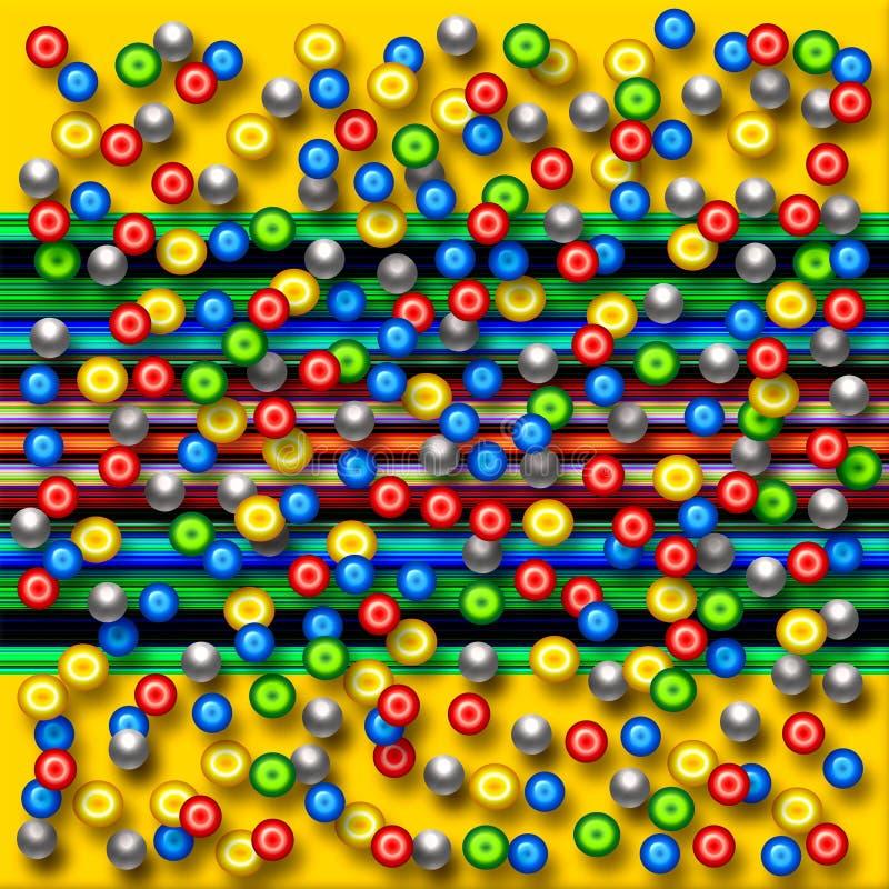 Porciones de granos libre illustration
