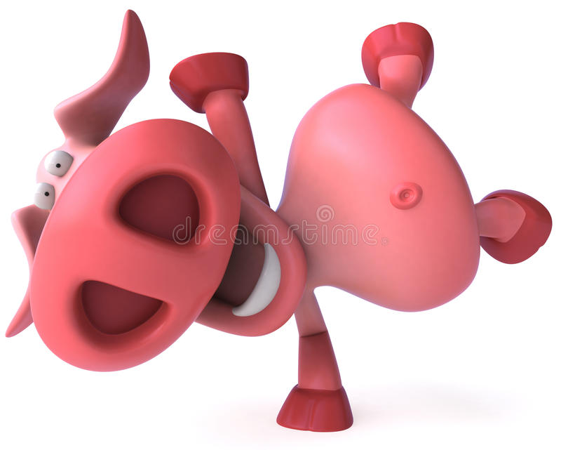 Porco ilustração stock