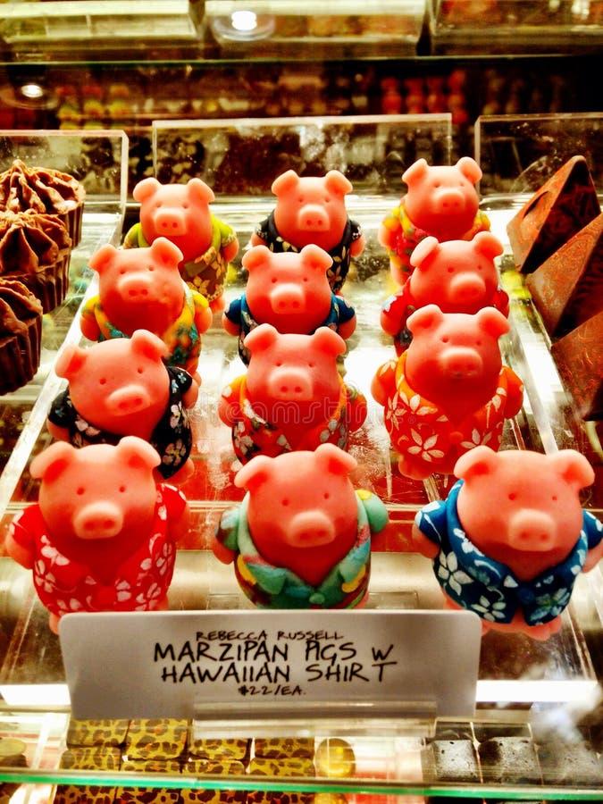 Porcos dos doces imagem de stock royalty free