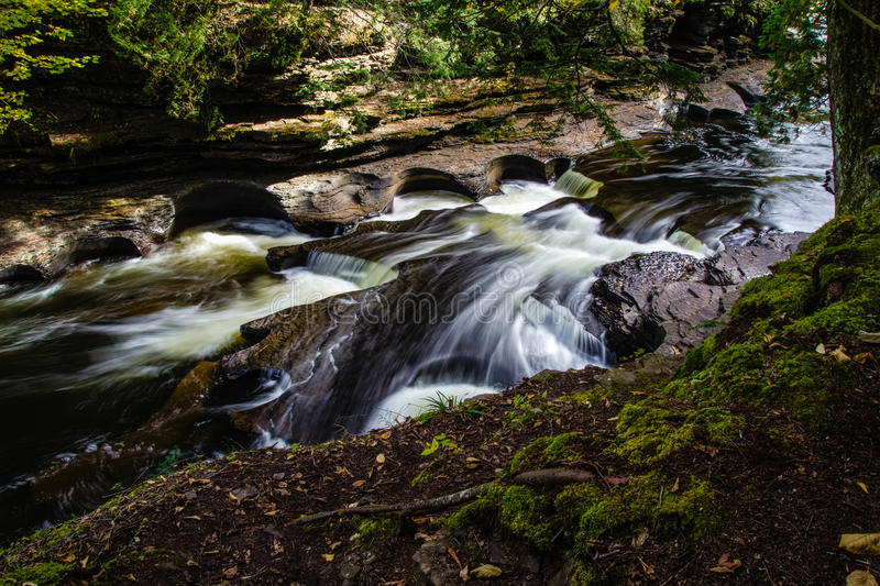 Porcupine Mountains State Park stock photo