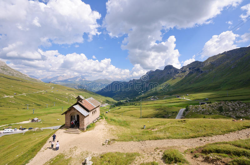 Download Pordoi Pass - Dolomites, Italy Stock Photo - Image: 16771368