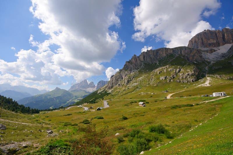 Download Pordoi Pass - Dolomites, Italy Stock Image - Image: 16771405