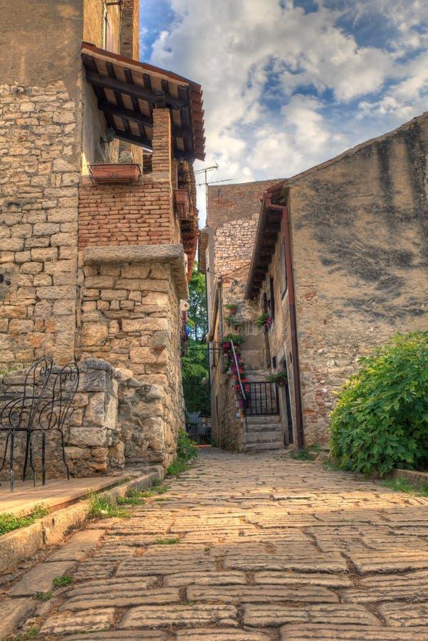 Porec, старый городок стоковая фотография rf