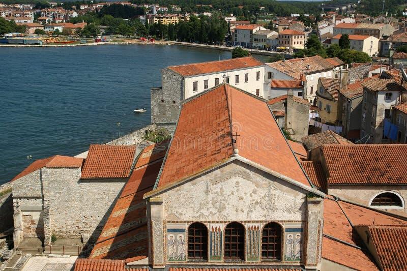 Porec, Croatie photos stock