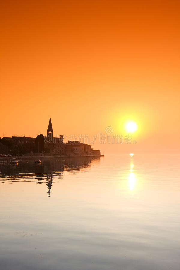 Porec, Croatie images stock