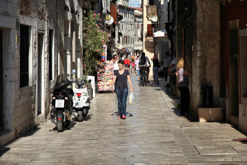 Porec, Croatie image libre de droits
