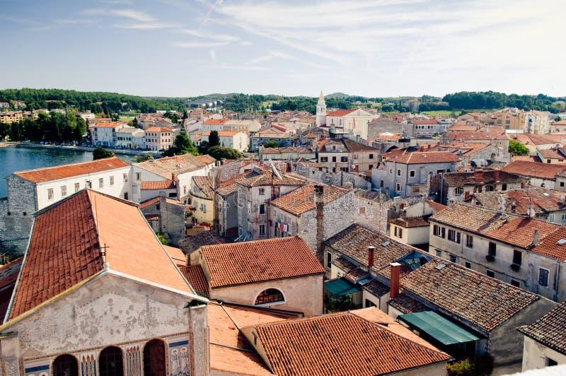Porec, Kroatië. stock foto's