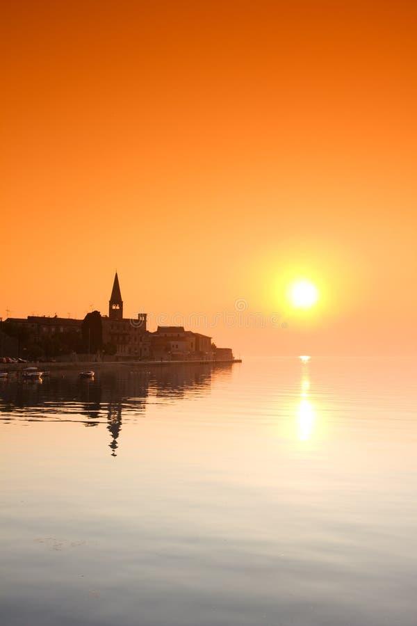 Porec, Kroatië stock afbeeldingen