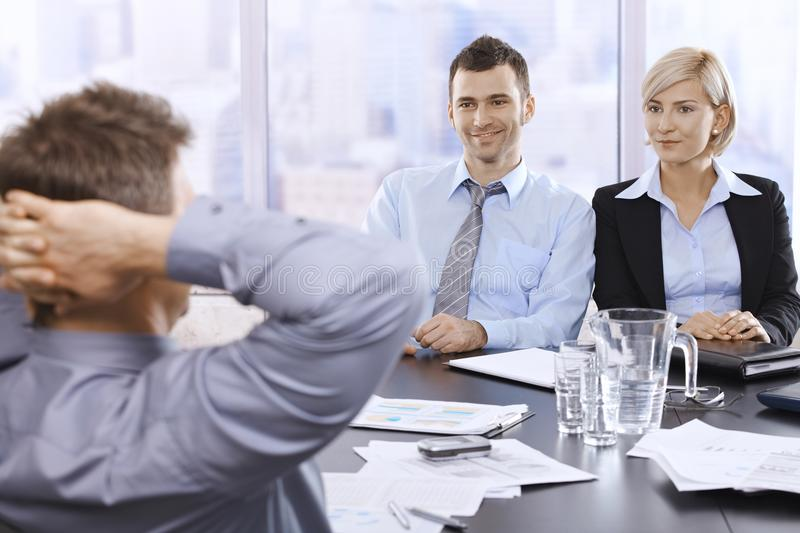 Porfessionals In Office Stock Image
