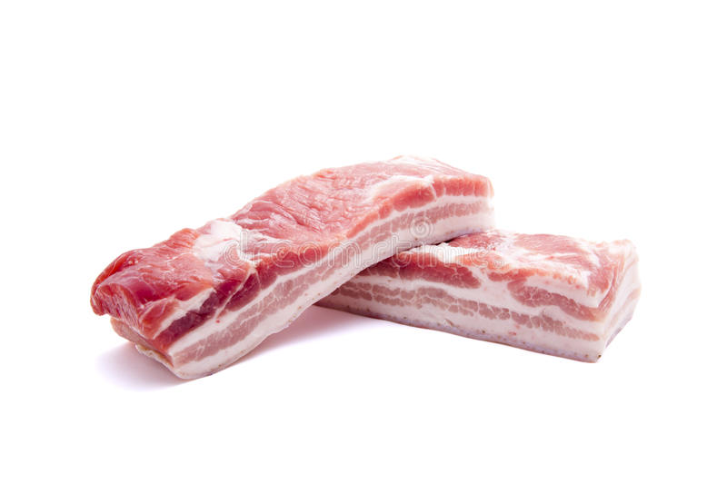 Pork belly stock photos