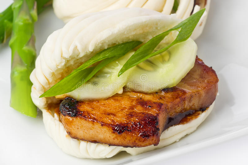 Pork Belly Buns royalty free stock images