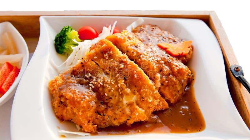 Download Pork chop stock image. Image of meat, diagram, serving - 19312737