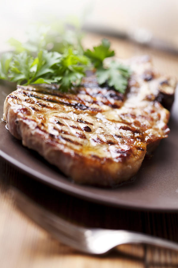Pork Chop Stock Image