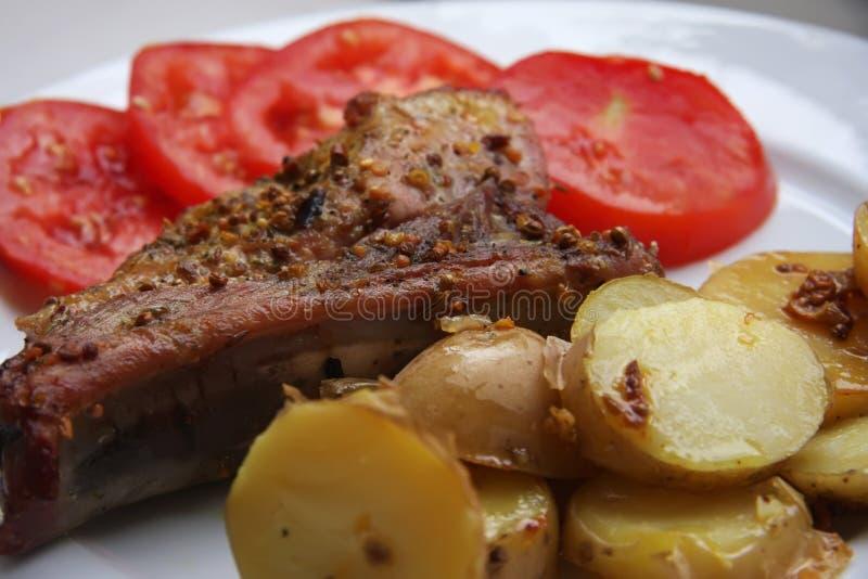Download Pork chop stock photo. Image of sauce, seasoned, marinaded - 7139988