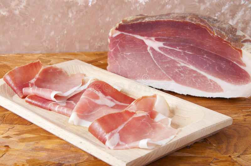 Download Pork cured ham stock photo. Image of board, gastronomy - 25181076