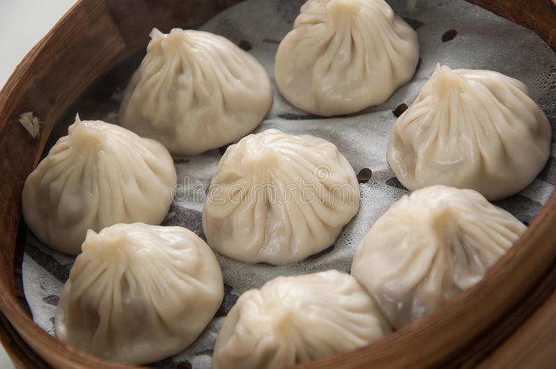 Pork Dumpling. Chinesse Food with Stream Pork Dumpling royalty free stock photos