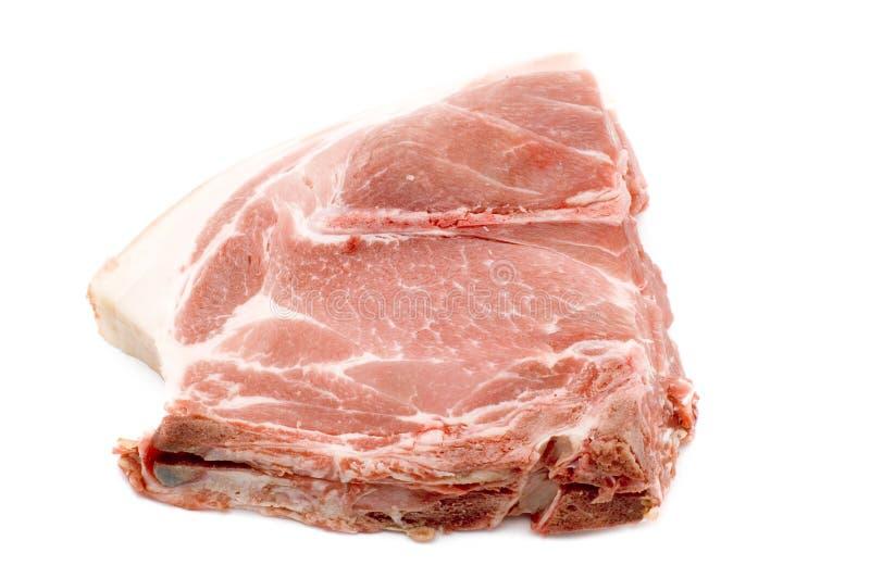 pork för kotlett en arkivbilder