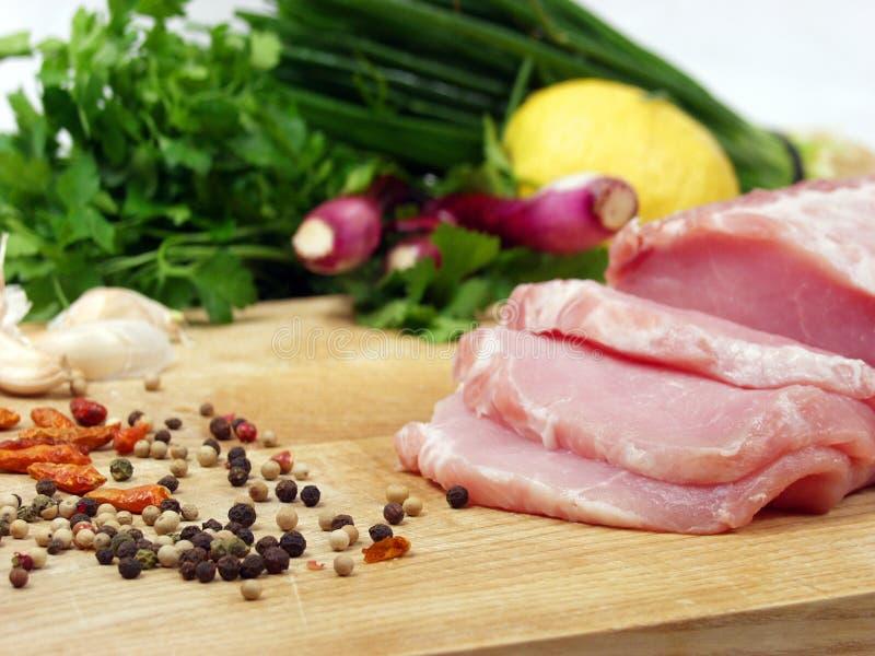 Pork loin royalty free stock image