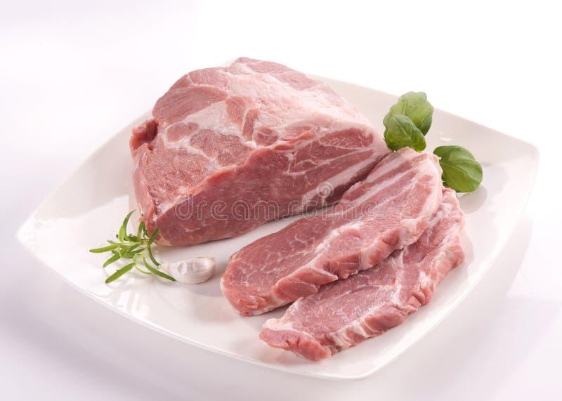 Pork neck royalty free stock photo