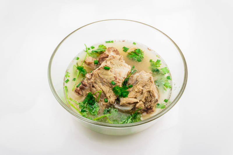 Pork Rib Soup Stock Photos