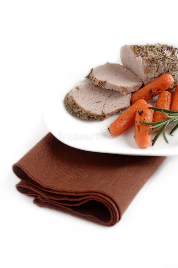 Pork roast royalty free stock photography
