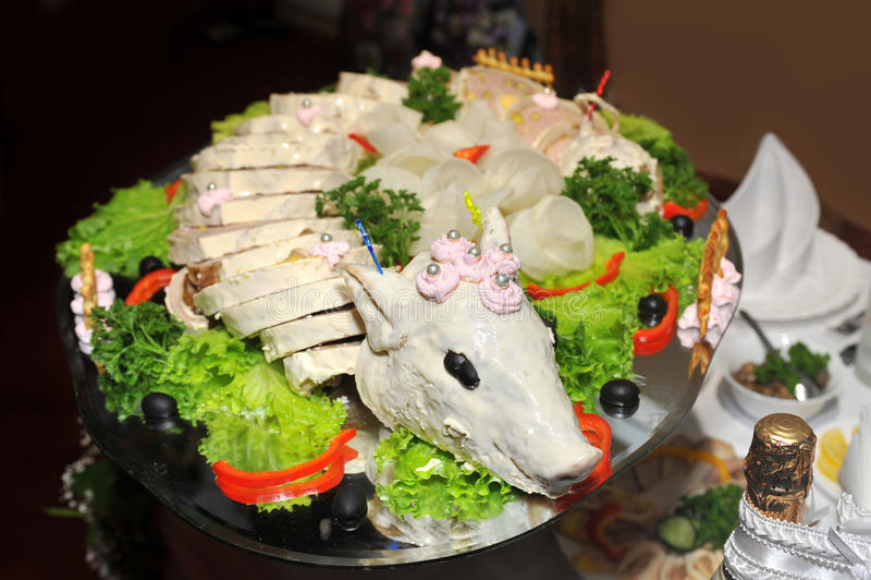 Pork Roulade Royalty Free Stock Image