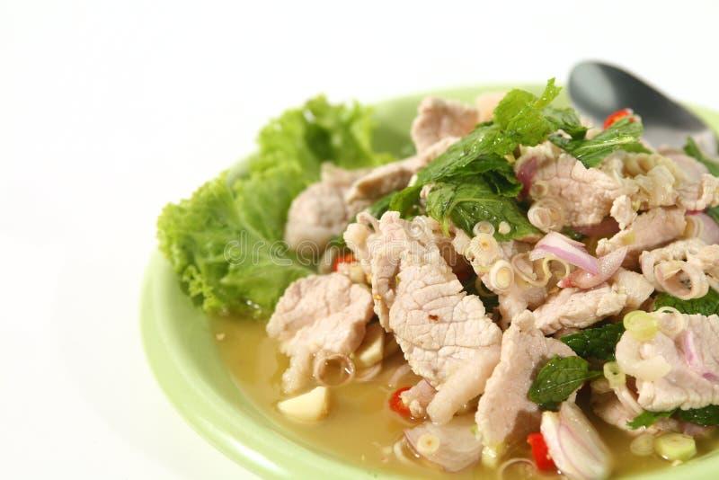 Pork Salad royalty free stock images