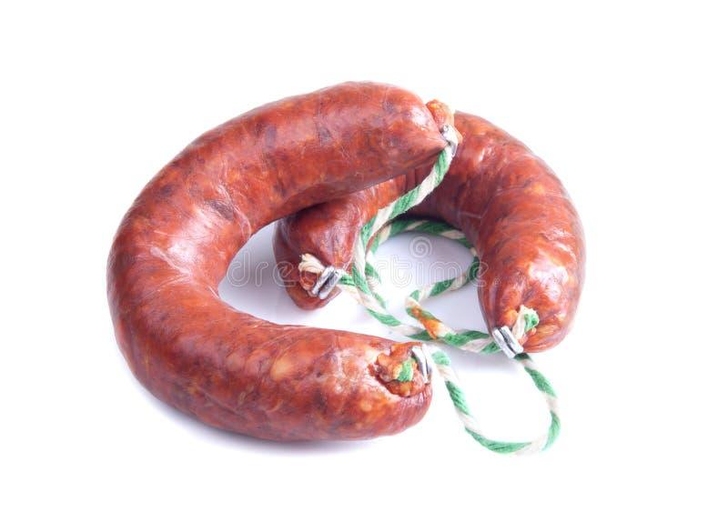 Pork sausage stock images
