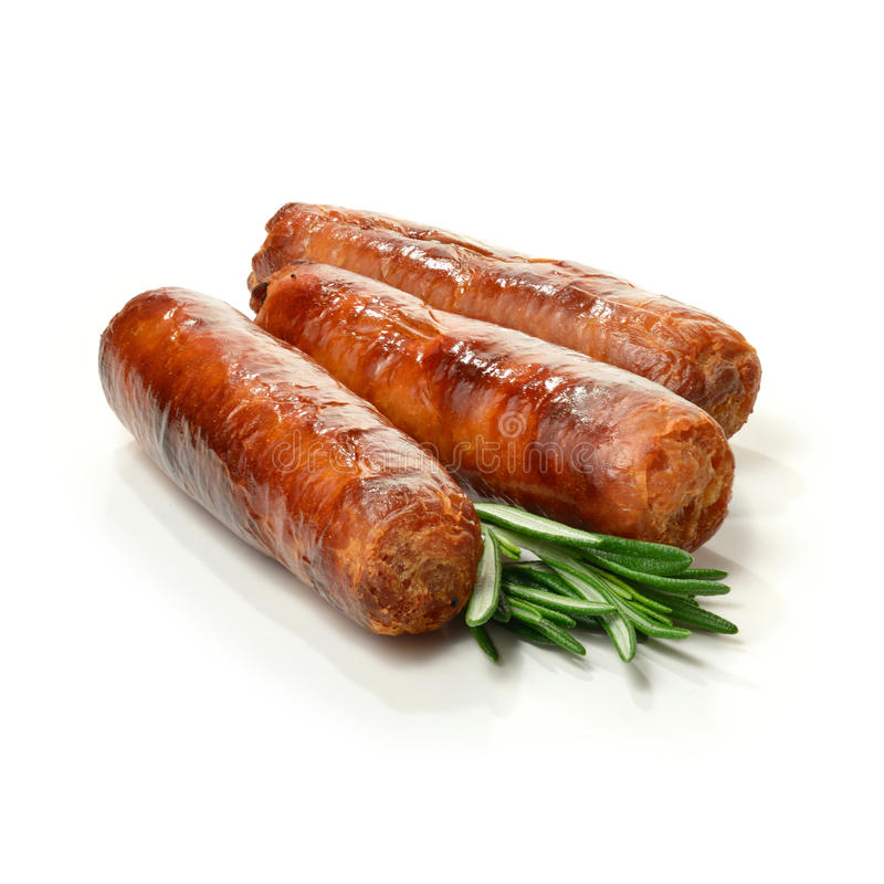 Pork Sausages 2 Royalty Free Stock Image