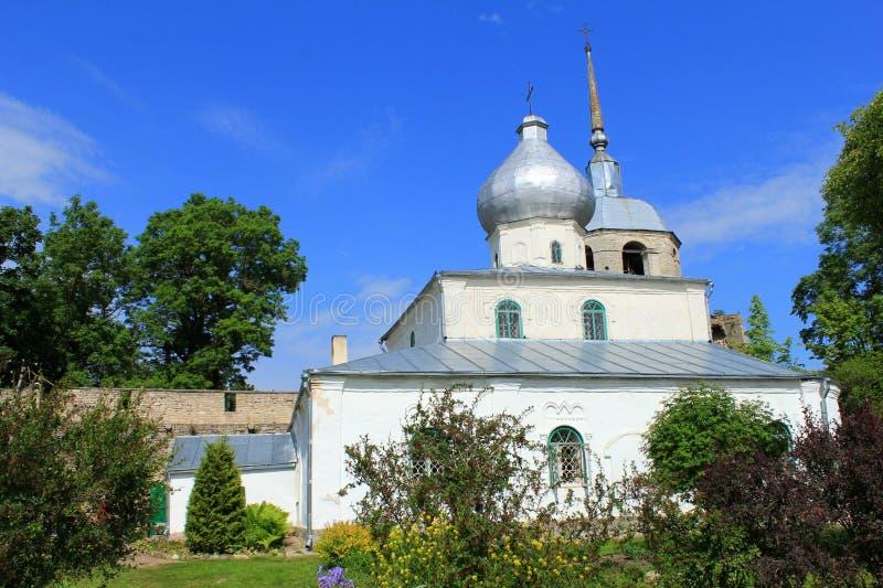 Porkhov L'église de Saint-Nicolas photo libre de droits