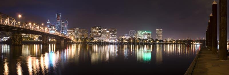 porland панорамы Орегона стоковое фото