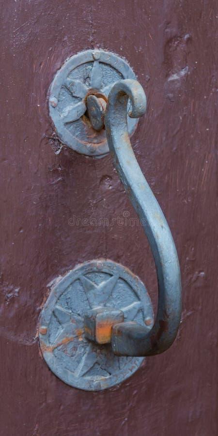 Pormenores do batente da porta de colheita de Montalcino fotografia de stock royalty free