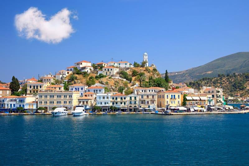 Poros, Griekenland royalty-vrije stock foto